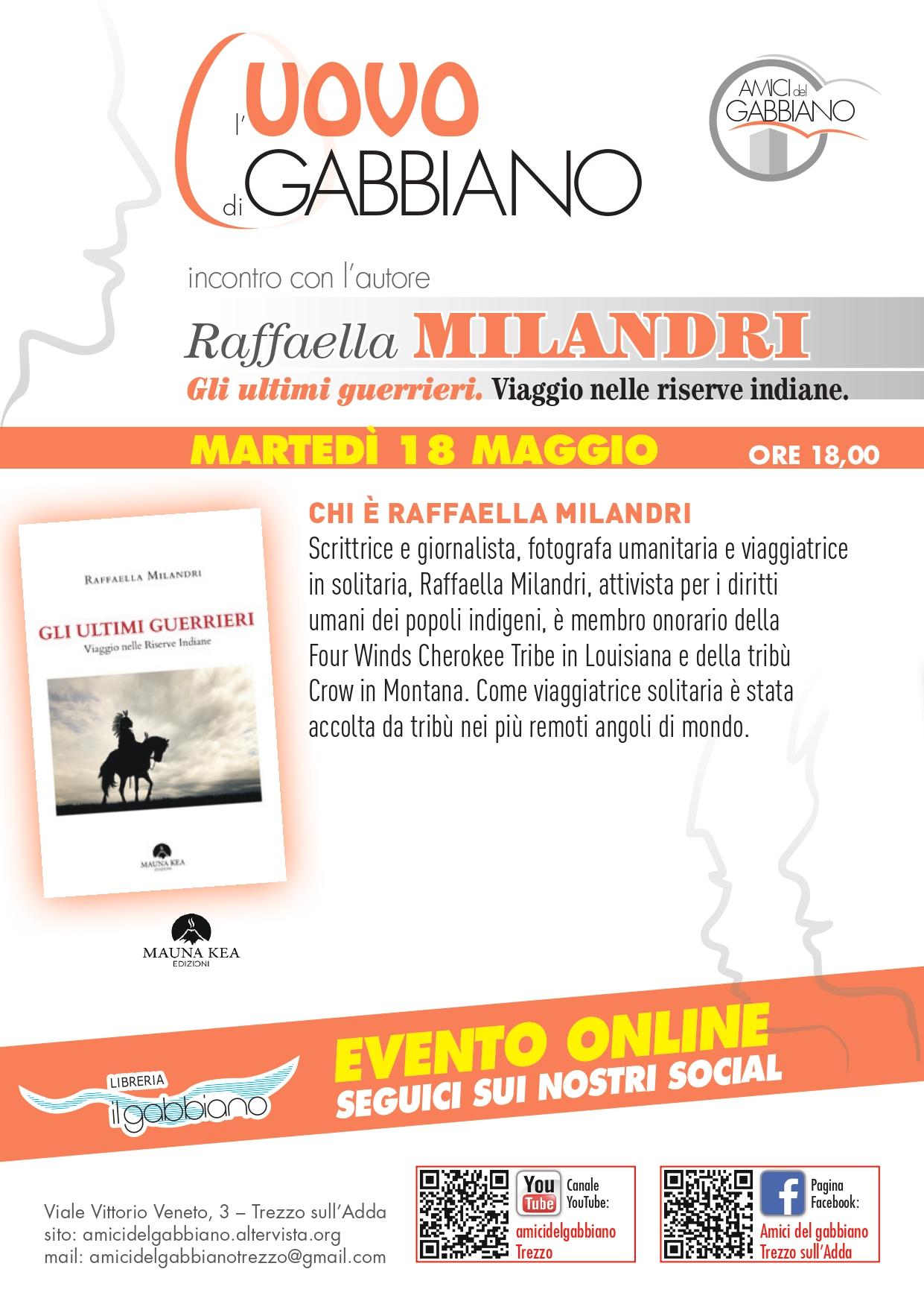 18 Maggio - Raffaella Melandri